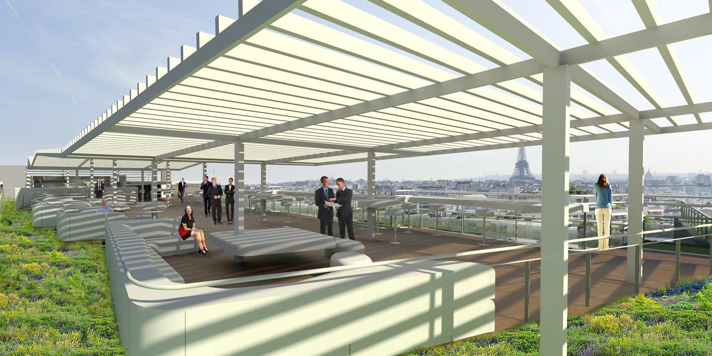 Bureaux montmorency for Projet architecture paris